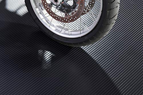 Motorcycle Mat-5'x10'-Black NO LOGO (55 mil grade)