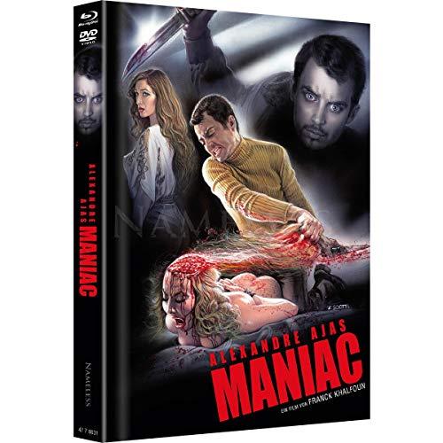 Maniac - Limited Uncut Mediabook - SCIOTTI Edition 6 Disc UHD - DVD - Blu-ray + Soundtrack