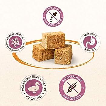 IAMS Naturally Friandises pour chiens 100 % viande de canard Qualité nutritionnelle et goût préservés – Faible en graisses – Sans : Céréales, OGM, sucres ajoutés, conservateur – Tube de 50g - Lot de 2