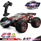 GoStock Remote Control Car, 4WD RC Car 46km/h High Speed RC Off-Road Monster Truck 1:12 RC Buggy Desert...