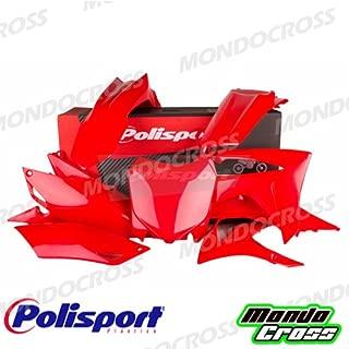 MONDOCROSS Parafango posteriore POLISPORT Rosso HONDA CRF 250 R 18-18 CRF 450 R 17-18 CRF 450 RX 17-18