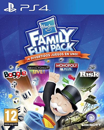 Hasbro Family Fun Pack PS4 Import auf deutsch spielbar