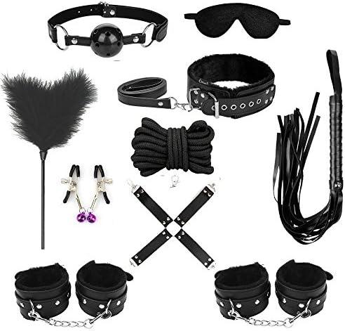 TissueDeep Novelty Clothing Accessory Kit Home Gym Sports Set of 10pcs Black product image