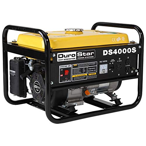 DuroStar DS4000S, 3300 Running Watts/4000 Starting Watts, Gas Powered Portable Generator -referbished