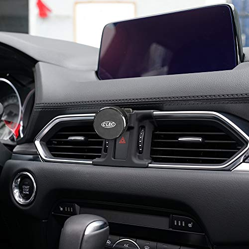 BeHave Phone Holder for Cx5 Mazda,Magnetic Car Air Vent Phone Stander,Car Holds Mount Fit for Cx-5 Mazda 2018 2019,Car Phone Mount Fit for iPhone 7, 6s,8 Fit for Samsung,Smartphone 4.7/5/5.5 Inch New York