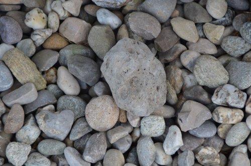 Dispositivo da nascondimento, per Geocaching, con nano e strisce da diario log, a forma di pietra, impermeabile, Rite in the Rain Log