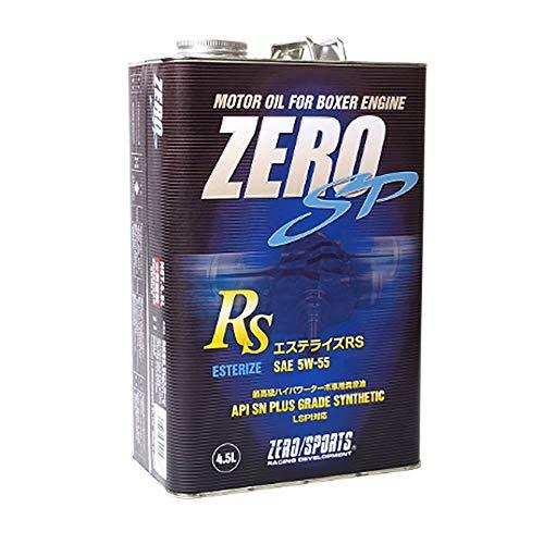 ZERO SP エステライズ RS 5W-55 4.5L缶 ゼロスポーツ 0826026