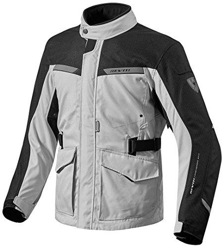 Revit Jacke Enterprise, Farbe Silber-schwarz, Größe L