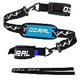 Oziral Ski Tragegurt, Verstellbarer Ski Schultergurt Nylon Shoulder Strap für Skifahren und Stöcke, Skibänder mit Skischuhträgergurt Skiausrüstung für Skiliebhaber Universelle Größe
