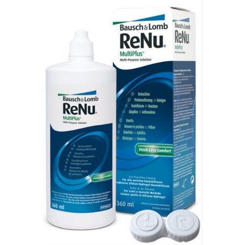 RENU MultiPlus - Juego de 2 botellas (2 x 360 ml)