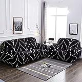 WXQY Funda de sofá geométrica para Sala de Estar, Funda de sofá en Forma de L para Mascotas, Funda de sofá Flexible con Todo Incluido, Funda de sofá A5 de 3 plazas