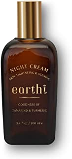 Earthi Tamarind and Turmeric Reviving Night Cream, 100 ml with Free Rose and Honey Face Wash 50ml