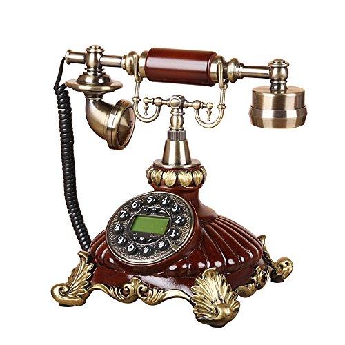 LXYFMS - Teléfono Fijo de Estilo Europeo para Sala de Estar, teléfono de línea Retro, decoración para el hogar