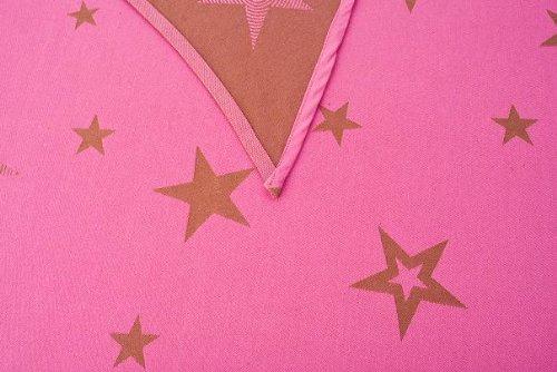 Kokadi 4250715700320 - Babytragetuch Gr. 3 Pink Stars