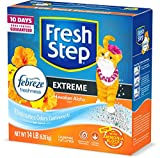 Fresh Step Scented Litter with The Power of Febreze, Clumping Cat Litter - Hawaiian Aloha, 14 Pounds...