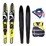 Wassersport SPINERA Combo SKI Yellow Sea 67'' Package Wasserski Paarski Weste GELB