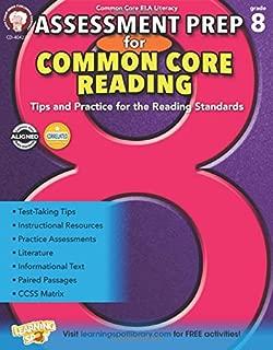 Assessment Prep for Common Core Reading, Grade 8