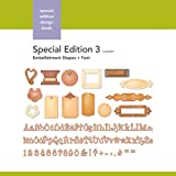 Xyron Embellishment-Shapes-and-Font Special-Edition Design Book for Xyron Personal Cutting System