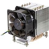 Dynatron R27 - Ventilador de PC (Processor, Cooler, 8 cm, LGA 2011 (Socket R), Intel Core i7, 1000 RPM)
