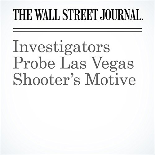 Investigators Probe Las Vegas Shooter's Motive copertina