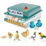 New Vida Máquina de incubación, Incubadora, Incubadora Automática de Huevos, Incubadora de Pollos, Incubadora Casera, Controlador de Incubación de Huevos, Incubadora para 36 Huevos