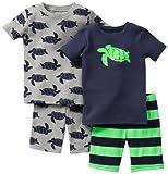 Carter's Schlafanzug 74/80 kurz 2 x Pajama 4 teilig Pajama kurz Sommer US Size 12...
