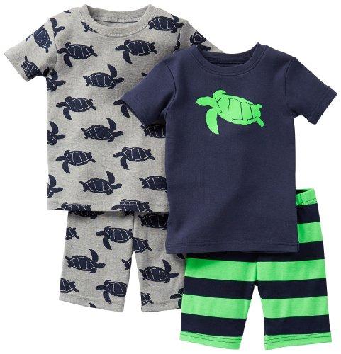 Carter's pyjama 74/80 kort 2 x pajama 4-delig Pajama kort zomer US size 12 maanden pyjama nachtkleding baby