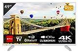 Hitachi 49HK6003W - Televisor Blanco 49' (125cm) 4K...