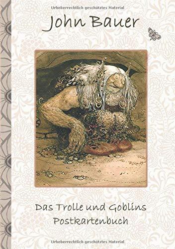 Das Trolle und Goblins Postkartenbuch: Fantasy, Fee, Märchen, Saga, Sage, nordisch, Elfen,...