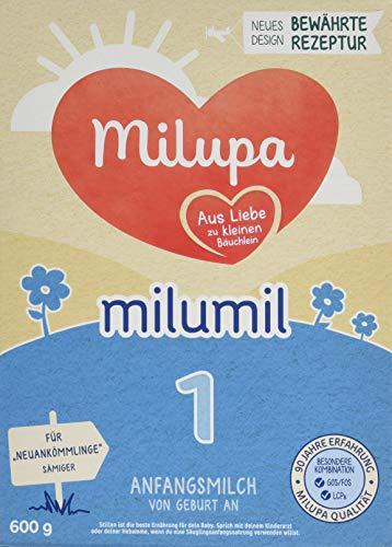 Milupa Milumil 1 Anfangsmilch Von Geburt an (5 x 600 g)