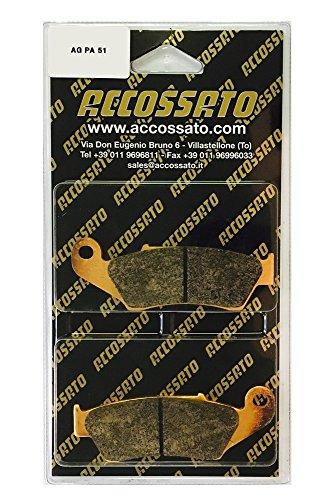 accossato Pastillas freno agpa51or, HM > Cre 250Supermotard, 250(2003–2007)