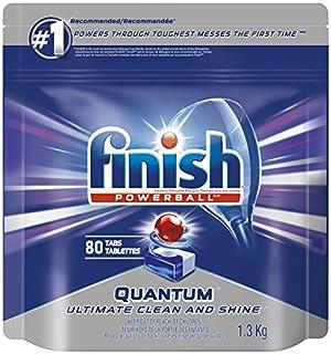 Finish Dishwasher Detergent, Quantum Max, Fresh, Mega Value Pack, 80 Tablets, Shine and Glass Protect (B00SHMFWTM) | Amazon price tracker / tracking, Amazon price history charts, Amazon price watches, Amazon price drop alerts