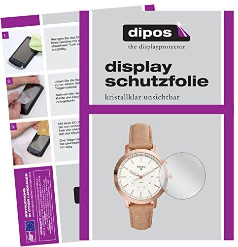 dipos I 6X Schutzfolie klar kompatibel mit Fossil Q Neely Folie Bildschirmschutzfolie