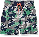 Amazon Brand - Spotted Zebra Toddler Boy's Swim Board Shorts, Camo, 3T