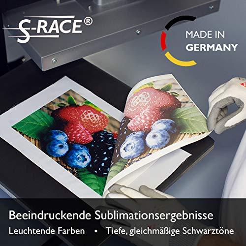 S-RACE Papel de transferencia DIN A3, 100 hojas, 120 g/m², para impresora de inyección de tinta