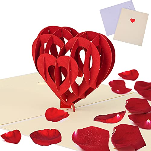 3D Pop Up Karte Liebe,Geburtstagskarte,Beste Mama Muttertagsgeschenk Ich Liebe Dich Grußkarten 3D Klappkarte Liebe Geburtstagskarten Geschenke für Frauen,Mama,Muttertagsgeschenke Ideen