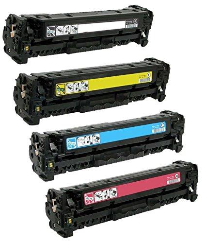 Prestige Cartridge 201X CF400X CF401X CF402X CF403X Kit 4 Toner compatibili per HP Color LaserJet Pro M252dw, M252n, MFP M277dw, MFP M277n