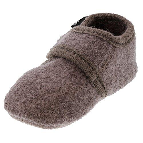 Celavi Baby Wool Shoe Hausschuh, Dusty Lavender, 27 EU