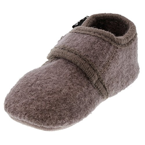 CELAVI Unisex-Baby Wool Shoe Hausschuh, Dusty Lavender
