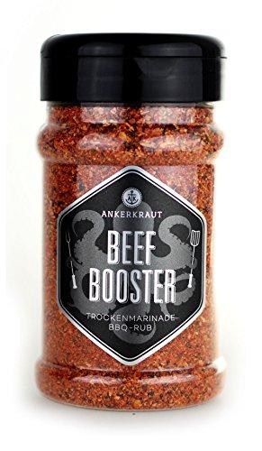 Ankerkraut Beef Booster, Rub Brisket und Steak Gewürz, Gewürzmischung für Fleisch, 230g im Streuer