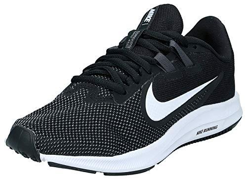 Nike Women's Downshifter 9 Sneaker, Black/White-Anthracite-Cool Grey, 12 Regular US