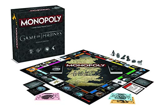 Winning Moves- Monopoly Game of Thrones Deluxe, 0420, Version Française