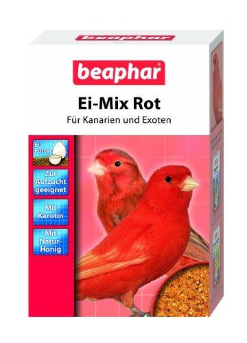 Beaphar Ei-Mix für Kanarien und Exoten - rot, 1kg