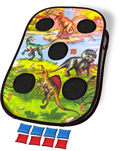 Bean Bag Toss Game Set (Dinosaur Bean Bag Toss Set)