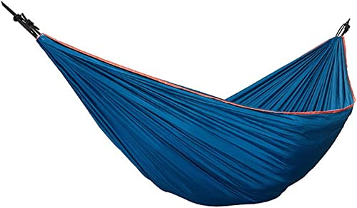 HCHD Hamac Portatif De Tissu en Nylon, Lit Extérieur De Double Accrochant De Loisirs De Camping De Camping