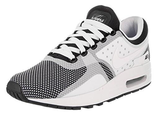 Nike Big Kids Air Max Zero Essential (Gs) (Black/White-Wolf Grey) Size 6.0 US