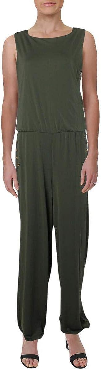 LAUREN RALPH Women's Wide-Leg Max 78% OFF Jumpsuit sale