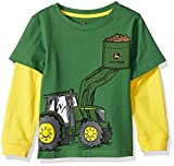 John Deere Boys' Toddler 2 for TEE, Green, 2T