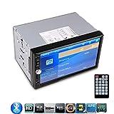 "Sound Boss HD 7"" TFT Car FM Radio Bluetooth Phone Call, mmC Touch"