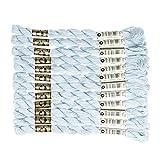 DMC コットンパール 刺繍糸 12束入 5番 #775 ブルー系 DMC115-8B